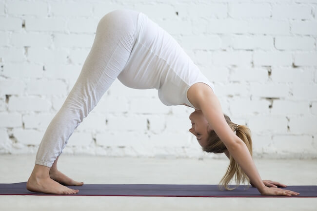 yoga while pregnant to turn posterior baby