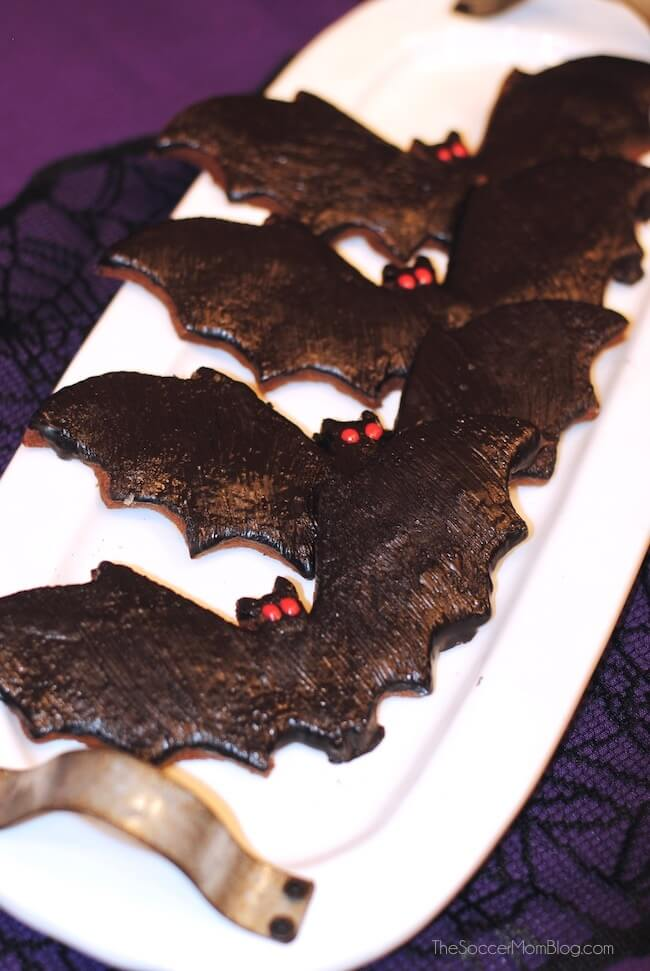 Disneyland bat cookies for Halloween 2018