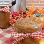 It's Fall in a jar! This Instant Pot Pumpkin Apple Butter is easy (less than 30 minutes to make!) and apple-solutely delicious!