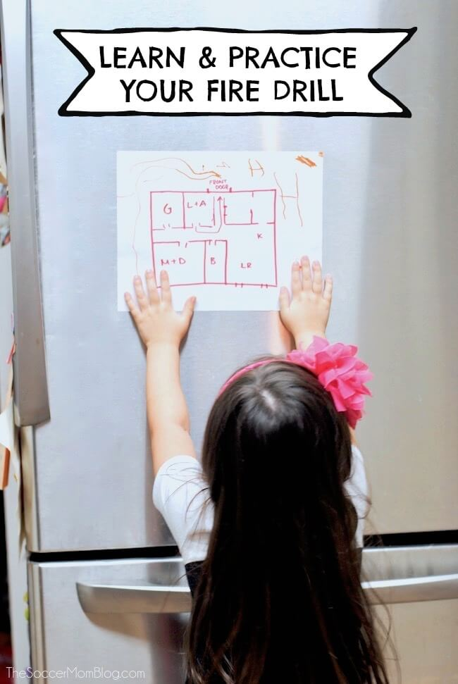 How to create and practice a fire escape plan that could save your family's life.