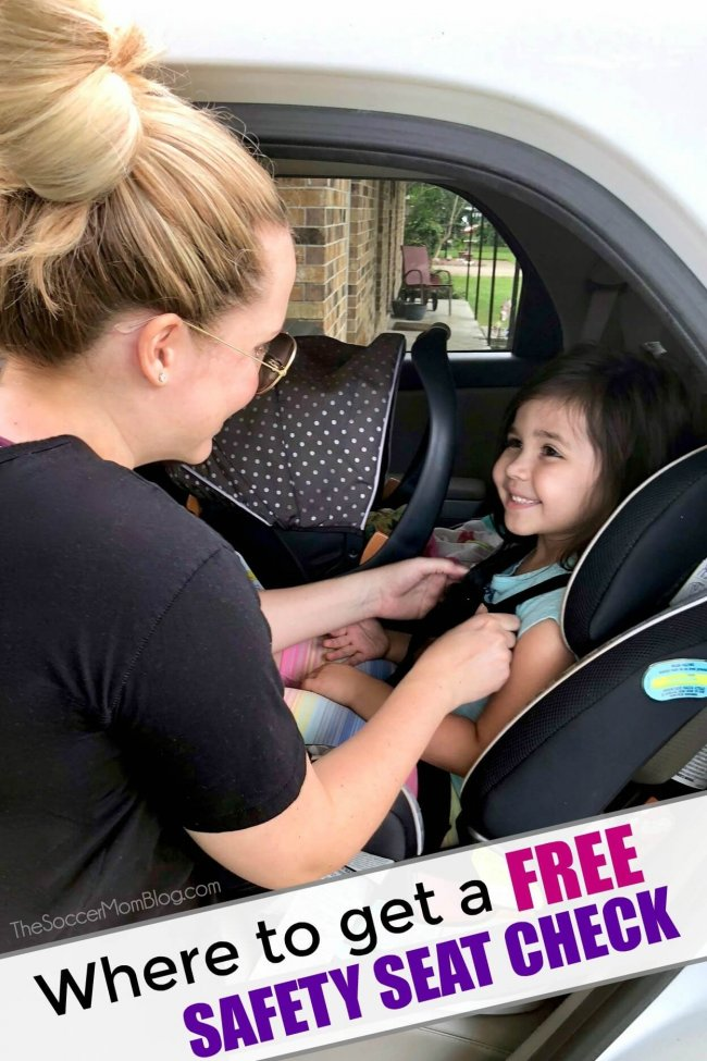 Where to find a free car seat check in Texas - plus learn what to bring and what to expect to a child safety seat check-up