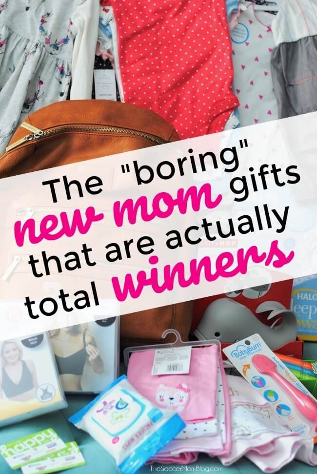 """When it comes to new mom gifts, these 5 baby care essentials might seem """"boring"""" but they are ALWAYS winners! Click for the list!"""
