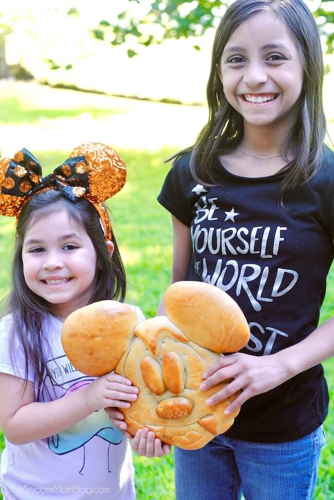 vampire Mickey Mouse sour dough bread