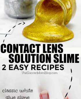 How to Make Slime with Contact Solution – 2 Easy Ways!