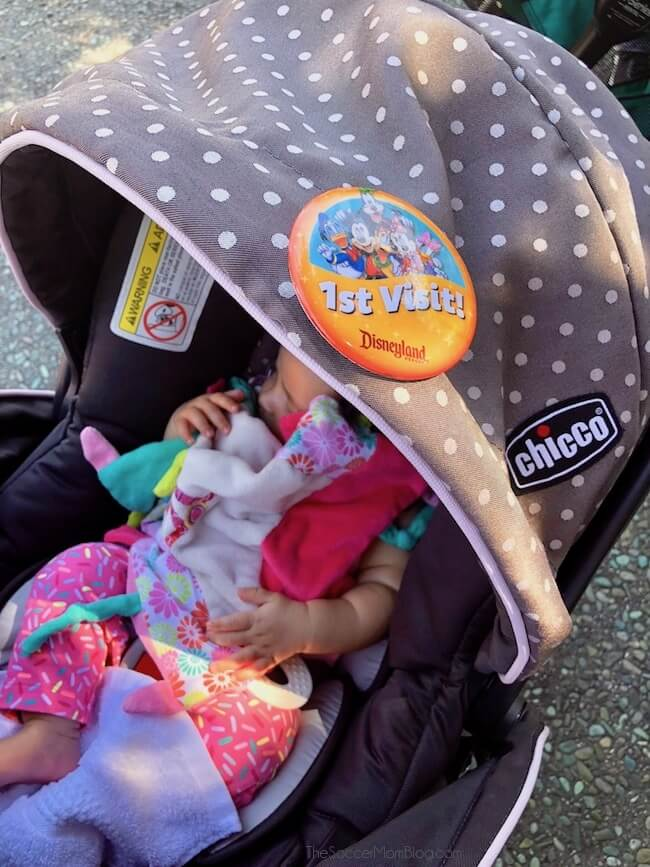 How to Visit Disneyland with a Baby (Even a Newborn!)