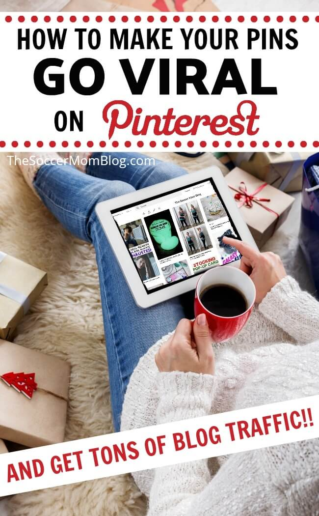 Stop guessing & start getting traffic with our proven system to make your pins go viral on Pinterest! Click to see a case study of our most viral post ever!
