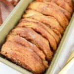 biscuit pumpkin loaf in pan