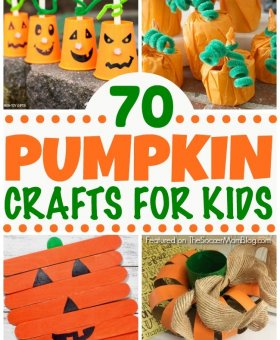 70+ Pumpkin Crafts for Kids