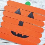 Kids will have a blast making lots of funny pumpkin faces with this easy Halloween craft!