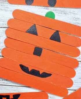 Mix and Match Pumpkin Faces Craft