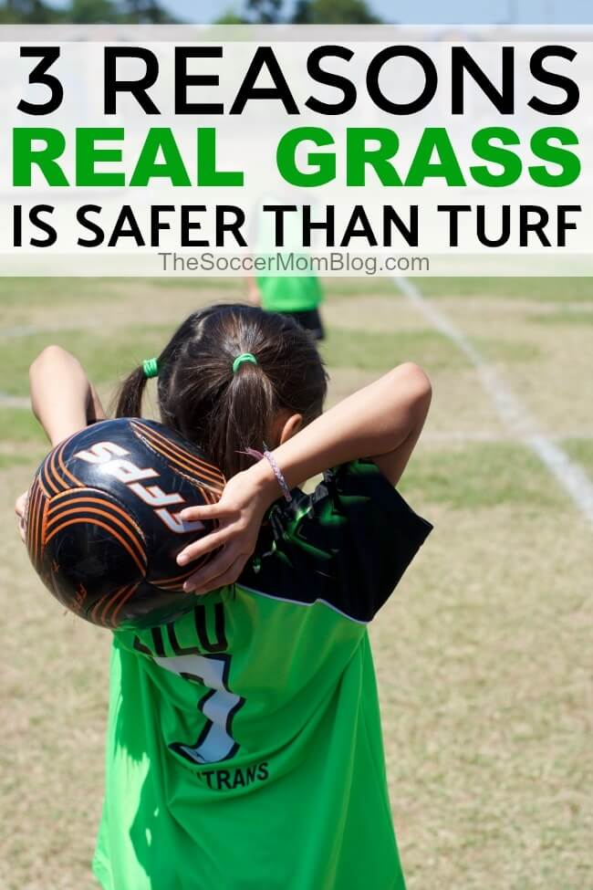 Synthetic grass surfaces are hailed as being low maintenance, but at what cost? There are three BIG reasons that natural grass is better than turf for soccer fields and safer for players.