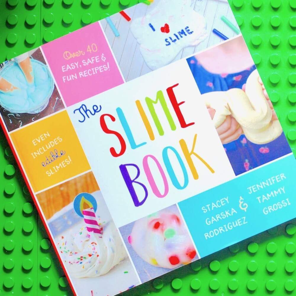 The SLIME BOOK for kids - 43 slime recipes!