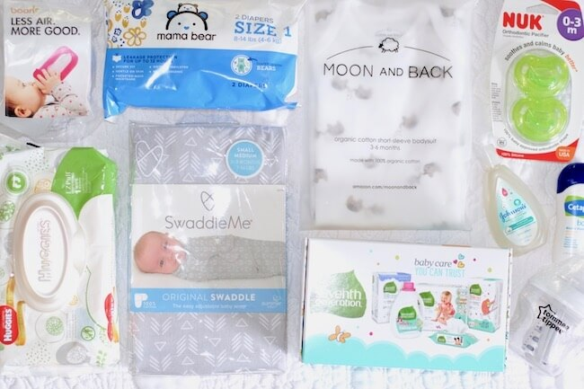 Click to see benefits of an Amazon Baby Registry