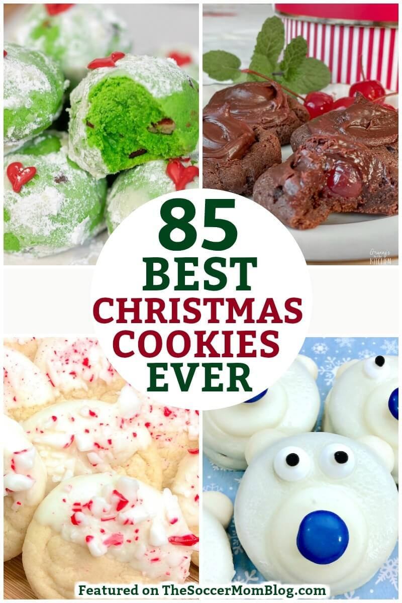 The BEST Christmas cookies recipe collection! Over 85 favorite recipes with more added regularly!