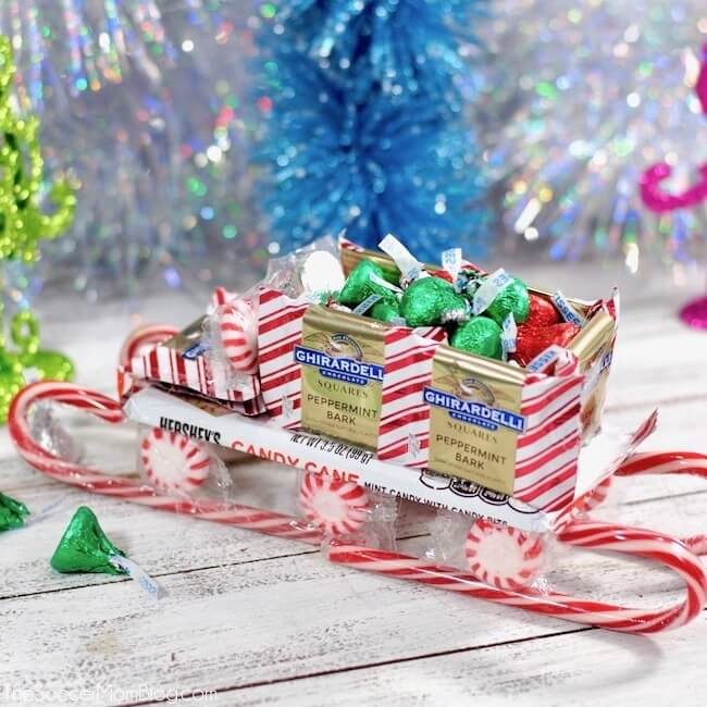 Christmas Candy.Christmas Candy Sleigh With Video