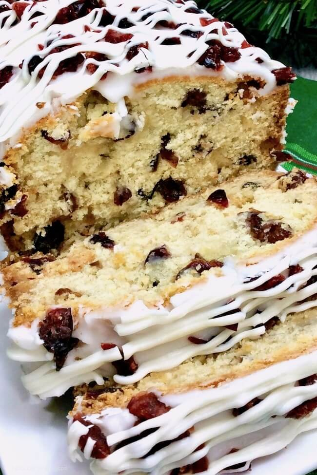 Starbucks Cranberry Bliss Bars - in bread form!!