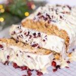 Cranberry Bliss Brot aus Cranberries und weißer Schokolade