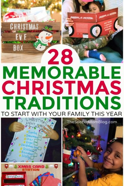 28 Memorable Family Christmas Traditions to Start This Year