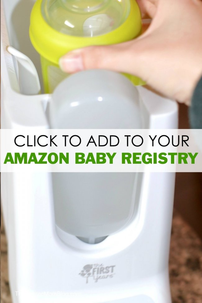 Click here to add The First Years 4-in-1 Remote Control Bottle Warmer to your Amazon Baby Registry!