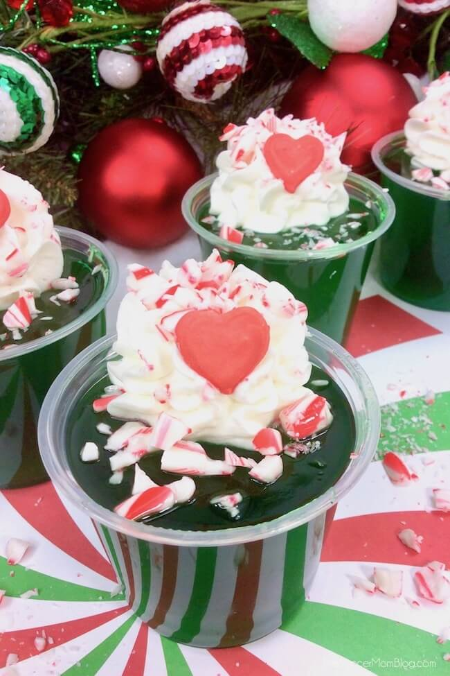 How to make Grinch Jello shots for Christmas