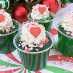 These Grinch Christmas Jello Shots are guaranteed to liven up the party!