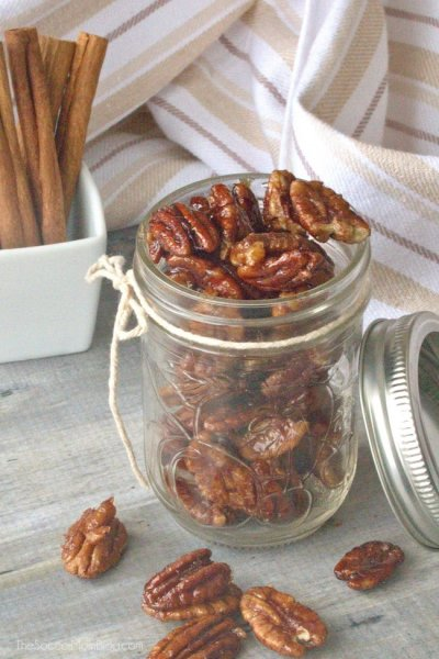 Healthy Paleo Candied Pecans
