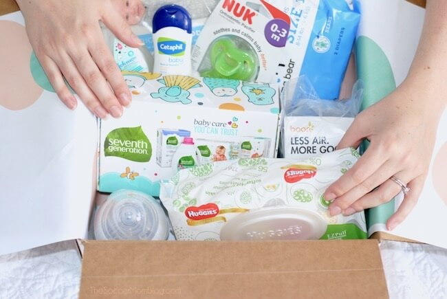 What's inside an Amazon Baby Registry Welcome Box