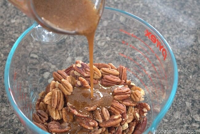 how to make healthy candied pecans