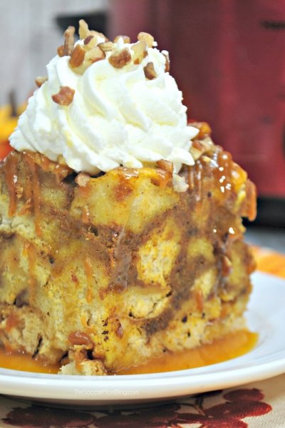 The Ultimate Slow Cooker Fall French Toast Casserole