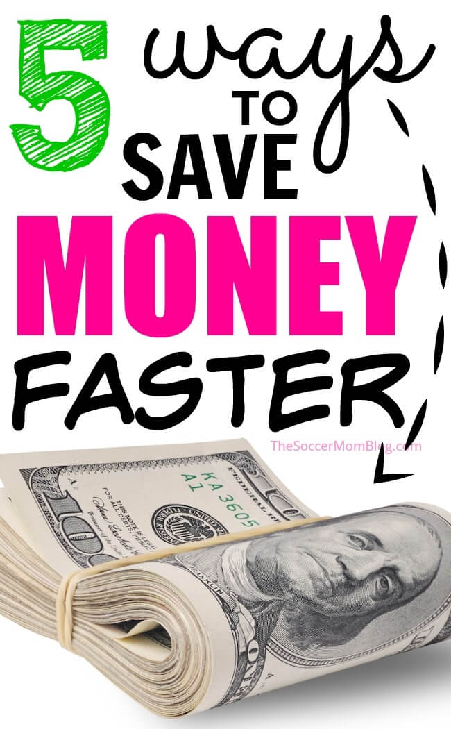 No gimmicks! 5 tried and true ways to save money fast and meet your savings goals.
