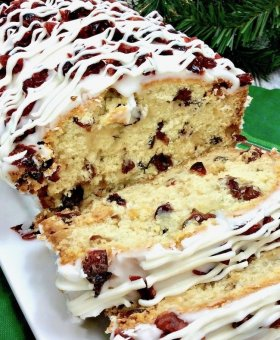 Copycat Starbucks Cranberry Bliss Bread