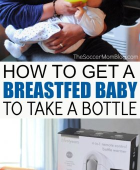How to Get a Breastfed Baby to Drink from a Bottle