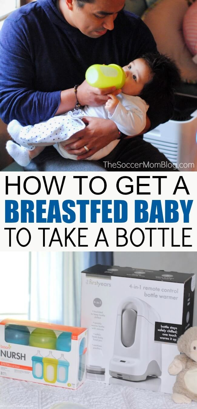 How to get a breastfed baby to drink from a bottle - tips that really work!