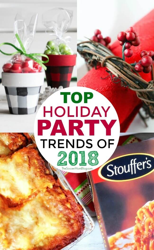 The top Holiday Entertaining Trends of 2018 to host the best party of the season! You're going to love these!