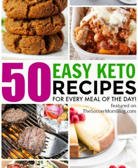 50+ Easy Keto Recipes for a Month of Healthy Meals