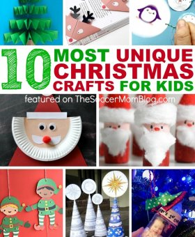 10 Super Unique Kids Christmas Crafts