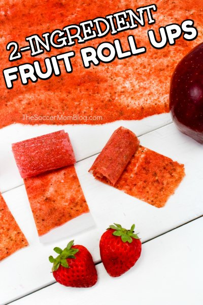 Finally...a snack you can feel good about serving your kids! These homemade fruit roll ups are made with real fruit and fun to make!