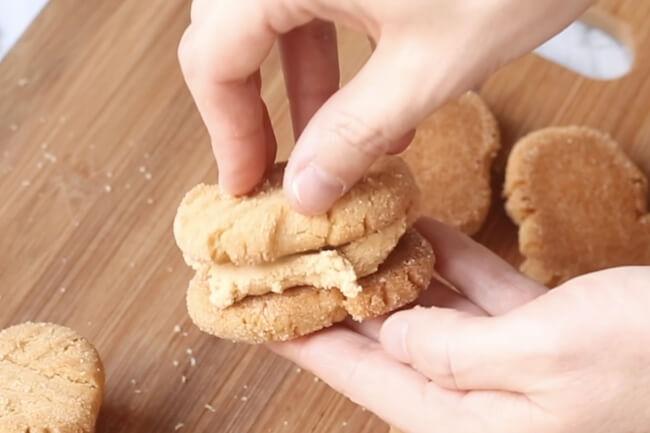 making a copycat Nutter Butter