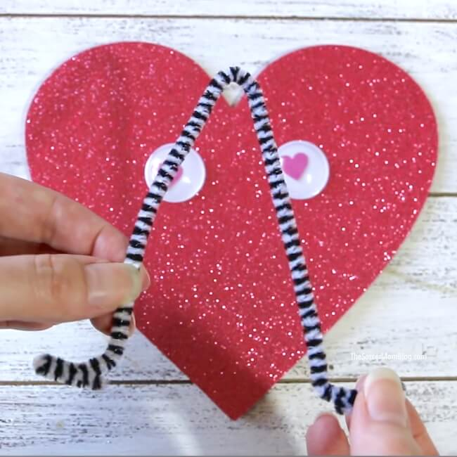 How to make a love bug card