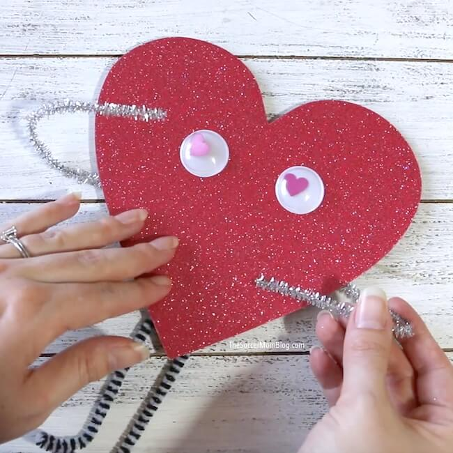 Love bug kid's Valentine's Day craft