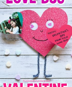Love Bug Valentine's Day Craft for Kids