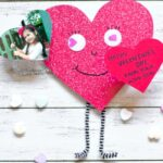 With wiggly arms and heart-shaped eyes, this cheerful Love Bug Valentine Craft is as cute as it gets! This easy Valentine's Day craft for kids is perfect for all ages and can be personalized with a child's photo.