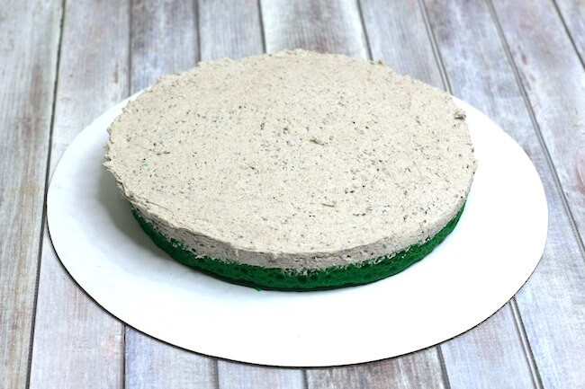 how to make Oreo mint cake