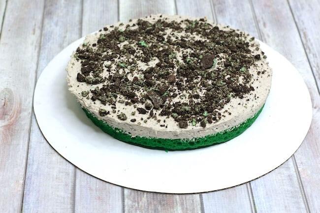Oreo mint cake instructions