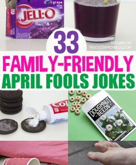 33+ Good-Spirited April Fools Day Pranks for Kids