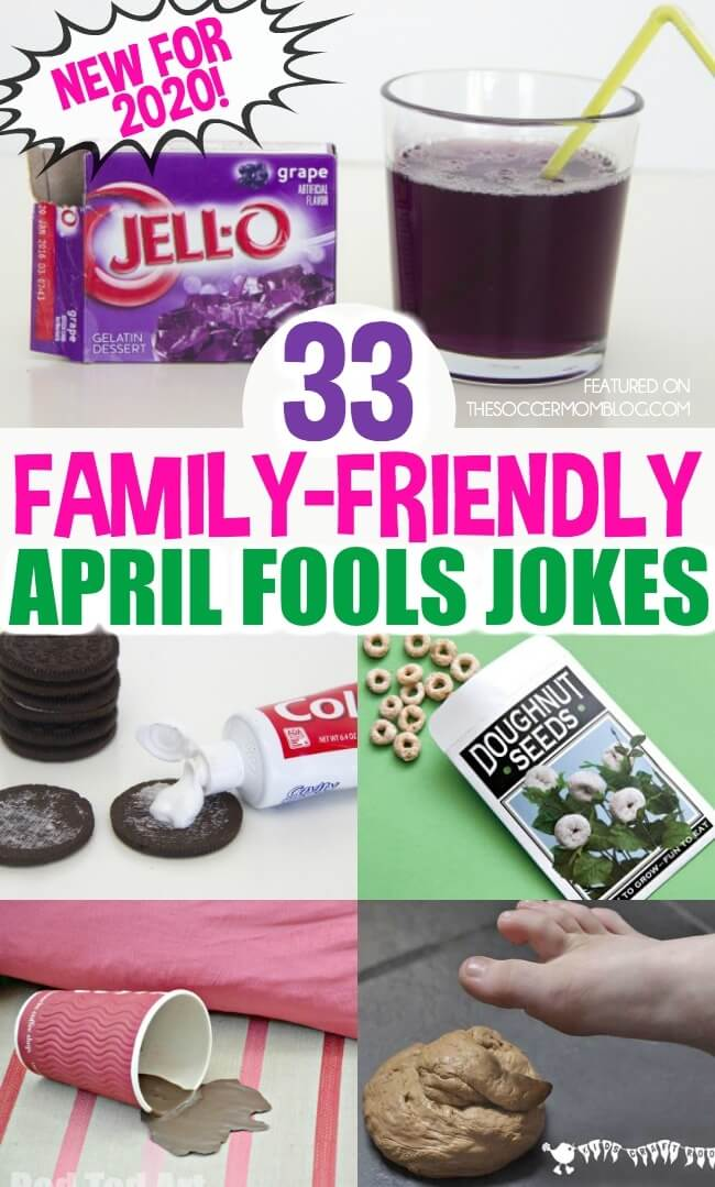 Family Friendly April Fools Pranks