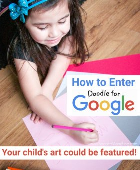 Your Child's Art Could be Featured on Google! Enter Doodle4Google 2019