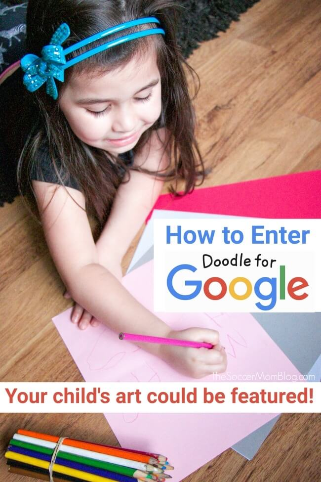 One lucky winner will have their artwork featured on Google for a day! Keep reading for details and how to enter the Doodle for Google 2019 art contest!