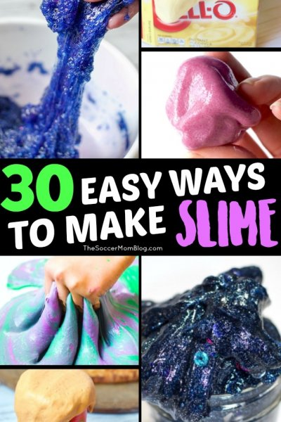 """No more """"slime fails"""" — we'll show you TONS ofeasy ways to make slime with this big collection of simple, but unique slime recipes!"""