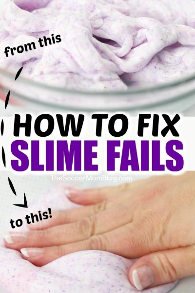 No more slime fails! How to fix hard slime in minutes with one simple ingredient.